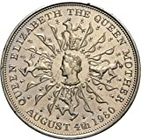 Queen Elizabeth The Queen Mother 80th Birthday Aug 4th 1980 Collectors Coin