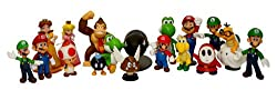 "Super Mario Brothers: 2"" Mini Figures Set of 18"