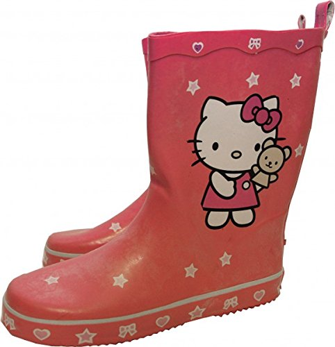 Hello Kitty Pink rubber boots - Hello Kitty Rubber Boots, shoe size:33