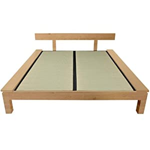Oriental furniture japanese style frame Platform bed japanese style