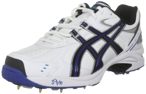 Asics Men's Gel 180 Not Out White/Midnight/Caribbean Sea Shoe P023Y 0155 10.5 UK