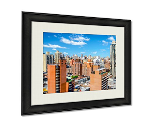 Ashley Framed Prints, View Of Upper East Side New York Tiltshift Effect Applied, Black, 24x30 Art (Upper East Side Poster compare prices)
