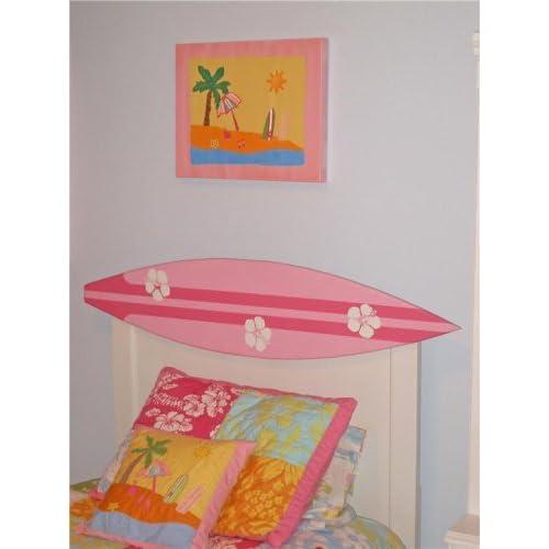 Amazon.com - Surfer Girl FULL Size Surfboard Headboard - Childrens