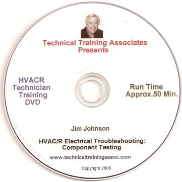 HVACR Electrical Troubleshooting: Component Testing By Jim Johnson