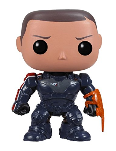 Funko POP Games Mass Effect Commander Shepard Vinyl Figure