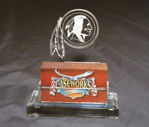 NFL Washington Redskins Business Card Holder in Gift Box by Caseworks