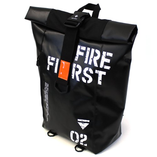 (FIRE FIRST)スクエア型リュック バックパック 22L