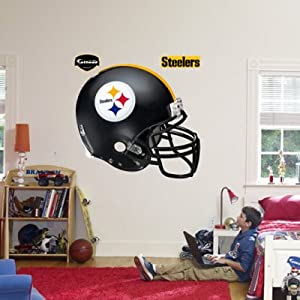 (51x57) Pittsburgh Steelers Helmet Fathead Wall Decal by Poster Revolution