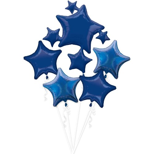 balloon bouquet blue