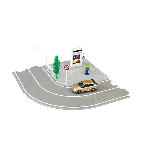 Tomica Hypercity Mini Gas Pump Set front-965538