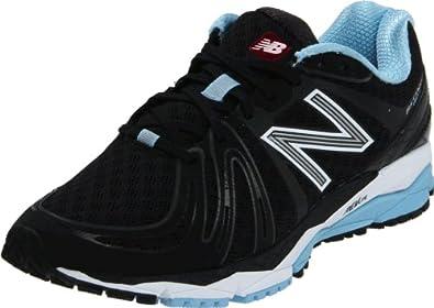 New Balance Women's W890v2 Running Shoe,Black/white,5 D US