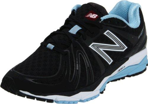New Balance Women's W890v2 Running Shoe,Black/white,9.5 B US