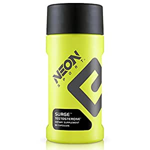 Neon Sport Surge Testosterone Booster for Men Capsules, 90 Count