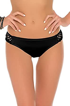 Becca by Rebecca Virtue Women's It Girl Tab Side Hipster Bikini Bottom