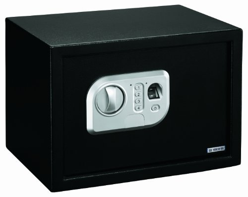 Stack-On PS-10-B Biometric Personal Safe with Adjustable Shelf, Black by Stack-On