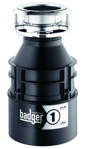 nSinkErator Badger 1 with  1/3 HP Household Garbage Disposer