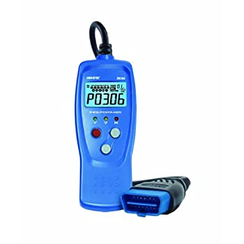 This compact hand-held OBD2 tool offers light do-it-yourselfers a quick & easy way to find out why the CHECK ENGINE light illuminated on 1996 and newer cars, light trucks, minivans and SUVs.  This little tool packs a big punch with its patented singl...
