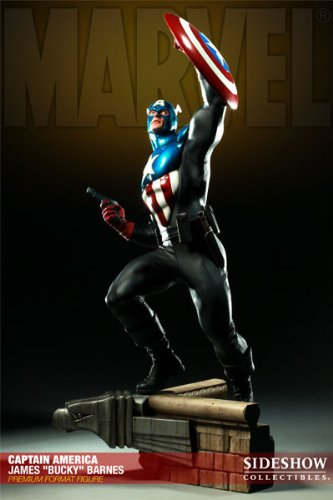 Buy Low Price Sideshow Marvel Captain America – James Bucky Barnes Statue Figure Premium Format Sideshow (B004HIJSB8)
