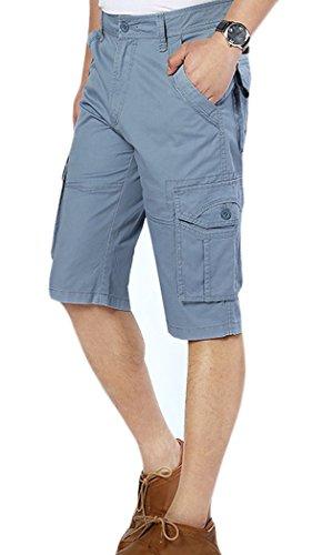 Lega Mens -  Pantaloncini  - Giacca caban - Uomo Blue/8601 Large