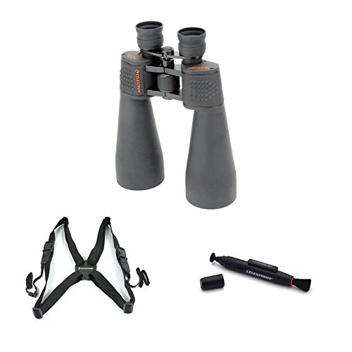 Celestron 15X70 Skymaster Binocular With Lenspen Cleaning Tool And Binocular Harness