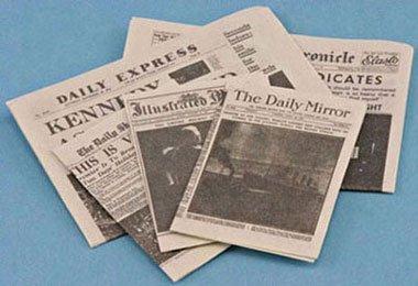 Dollhouse NEWSPAPER - 1