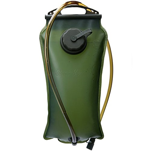 Baen Sendi Hydration Bladder 3 Liter/100 oz - Water Storage Bladder Bag, Water Reservoir Pack for Hydration Pack System, Best for Cycling, Climbing, Hiking (ArmyGreen,100 oz) (Water Bladder 3l compare prices)