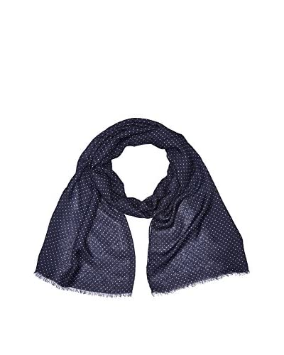 Hackett London Fular Micro Star Azul