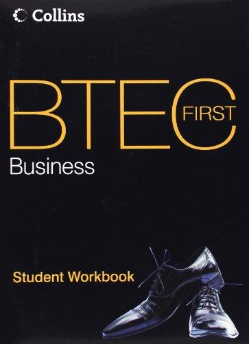BTEC First Business: Student Workbook
