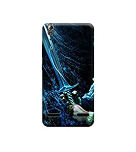 Ebby Premium Printed Back Case Cover With Full protection For Lenovo A6000 / A6000 Plus (Designer Case)