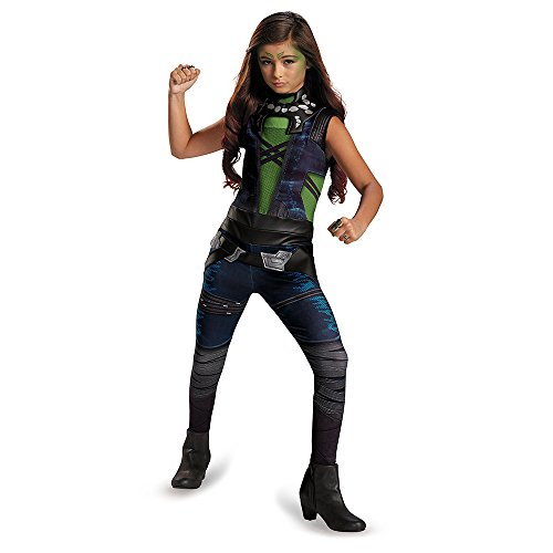 Disguise Marvel Guardians of The Galaxy Gamora Classic Girl's Costume