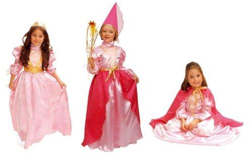 Imagen 1 de Cesar - Pack 3 disfraces de reina, princesa y hada para niña (de 8/10 años)