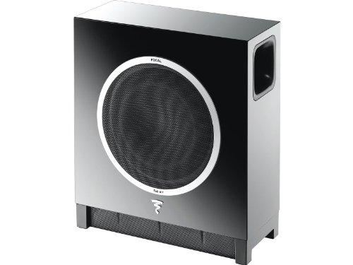 """Focal - Sub Air - Wireless Ultra Flat 8"""" Subwoofer - High Gloss Black"""