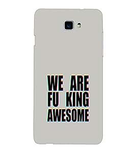 EPICCASE We are Fu_king Awesome Mobile Back Case Cover For Coolpad Dazen 1 (Designer Case)