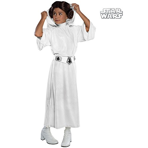 Deluxe Princess Leia Costume - Small (Deluxe Child Princess Leia Costume)