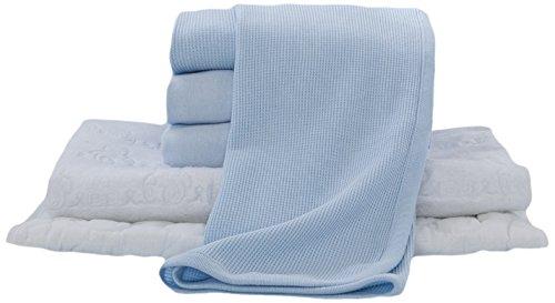 American Baby Company Crib Starter Set, Blue