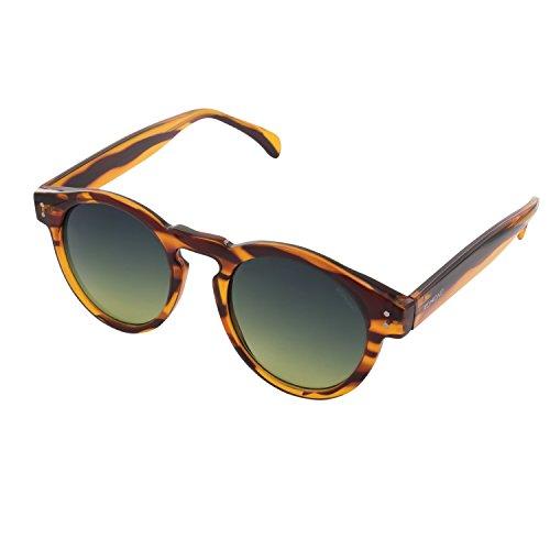 Herren Sonnenbrille Komono Clement lined tortoise