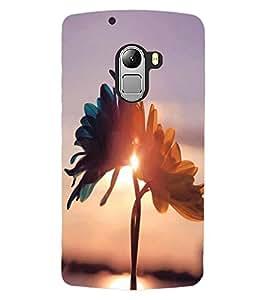 ColourCraft Lovely Flowers Design Back Case Cover for LENOVO VIBE X3 LITE