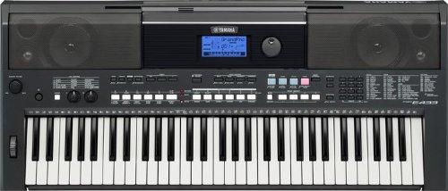 Yamaha PSR Series PSRE433 61-Key Portable Keyboard