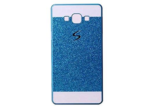 KSHOP Coque Étui pour Samsung Galaxy A7 (2015 Version) Luxe PC Plastique Dur Strass Couvrir Bling Brilliant Ultra Mince Paillette Scintillantes
