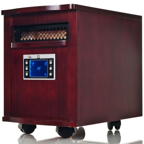 Warm House 80-5531 Digital Readout Warm House Portable Infrared Heater