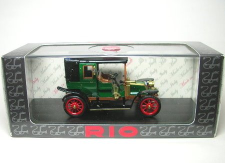 リオ 1/43 ルノー AG 1910 グリーン/ブラック