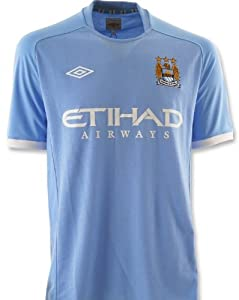 Umbro Manchester City Home Jersey 10/11