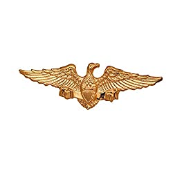 Imported Men's Elegant Fashion Golden Fierce Eagle Brooch Pin Lapel Party Collar Pin