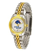 Boise State Broncos BSU NCAA Womens 23Kt Gold Watch