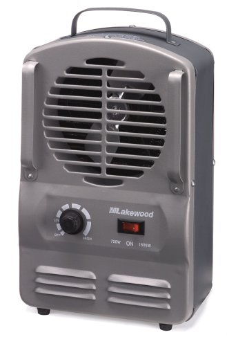 Lakewood 792/S/GSA 750/1500 Watt Fan Forced Utility Heater
