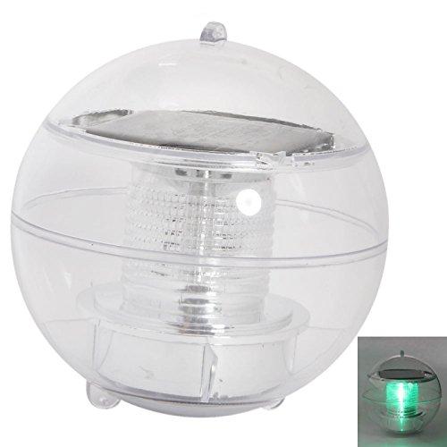 Great Value Night Lights New Solar Power Floating LED Light Green Light For Garden Pond Christmas
