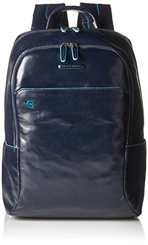 Piquadro CA3214B2/BLU2 Zaino, Collezione Blue Square, 39 cm, Blu