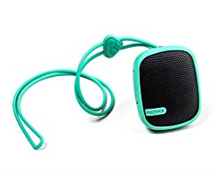 eshop24x7 Remax RM-X2 Mini GREEN Bluetooth Speaker Hands-Free (Shockproof / Dustproof / Waterproof) for Apple iPhone 4, 4S, 5 5S, 5C, 6, 6 Plus, Blackberry Q5, Q10, Z10, Z3, Samsung ACE, Galaxy S2, S3, S4, S5. Note 2, Note 3, Note 4, Grand 2, Nokia Lumia. HTC. Sony Experia Z, Moto G, LG Optimus, LG G2, Nexus 4, 5 and most Smartphones with Bluetooth