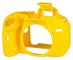 EasyCover Camera Case for Nikon D5200 (Yellow)