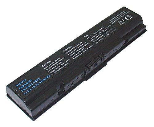 PowerSmart ® 48 Li-ion 10,8 V 4400mAh de rechange pour ordinateur portable/Notebook Pa3534U - 1BAS, Pa3534U - 1BRS, Pa3535U - 1BRS, Pa3682U - 1BRS, Pa